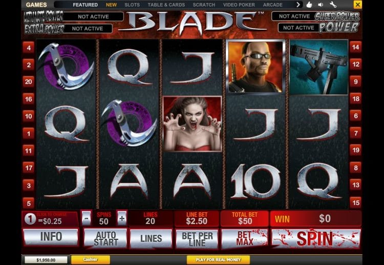 slot playtech blade