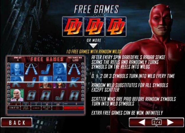 daredevil slot online